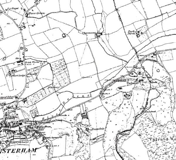 Part of 1873 map