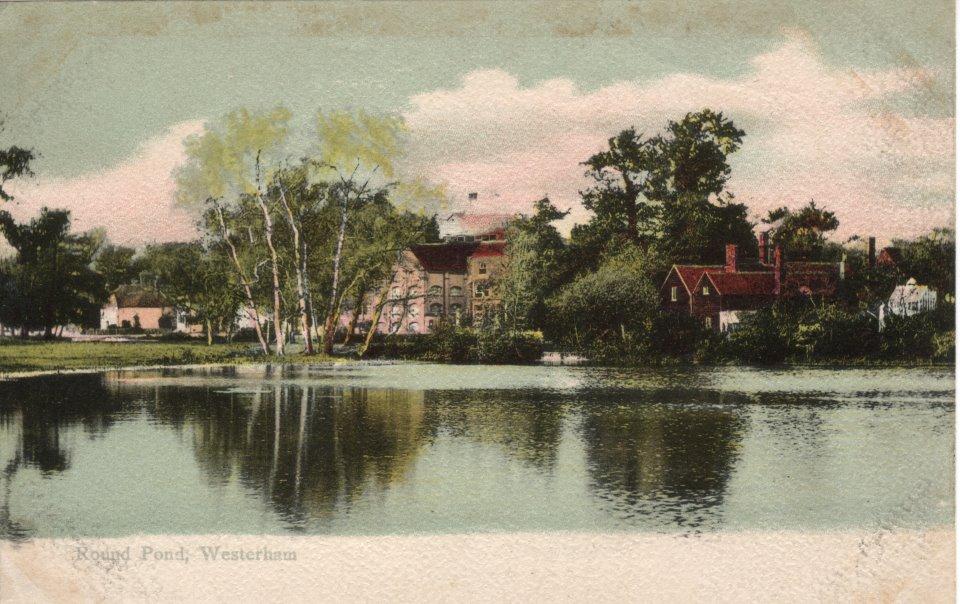 Round Pond Westerham Postcard