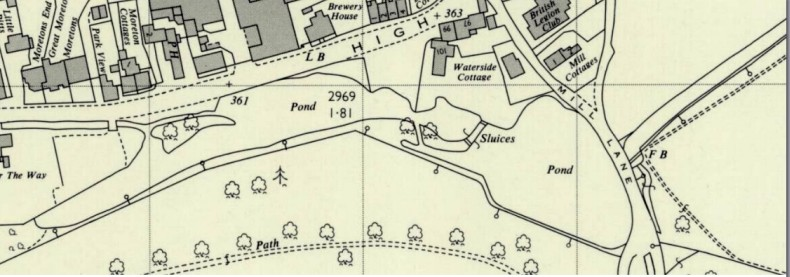 OS Map from 1960