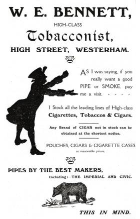 W Bennett Tobacco
