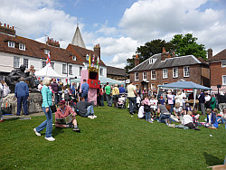 Fair on Westerham Green