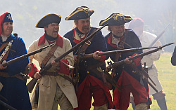 Living History Camp and Mock Battle