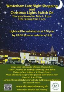 Christmas Lights Poster A5 JPEG
